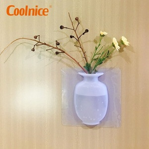 Import 2019 Home Interior Decoration Magic Unbreakable Silicone Wall Flower Vase From China Find Fob Prices Tradewheel Com