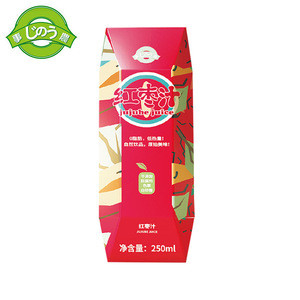 250ml/box Delicious Concentrated Fruit Juice Red Date Jujube Juice