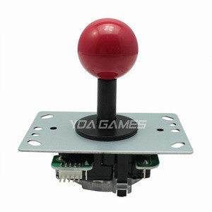 4 Way 8 Way Arcade Joystick with PCB and Wires