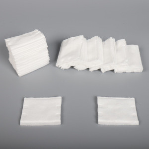 5*6cm 100% pure natural white cotton pads for health care & make up & skin care