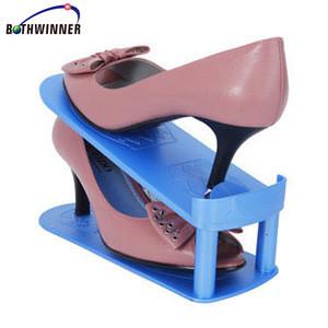 Adjustable Shoes Stack Base Space Saver Rack Double Layer Shoe Storage Hanger