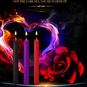 BDSM Drip Candles Lover Toys Passion Dripping Wax Game Low Temperature Candle SM Bed Restraints For Women Men