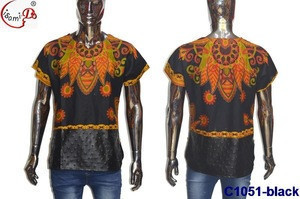 C1051 New design fashion african wax cloth for men / wholesale african clothing