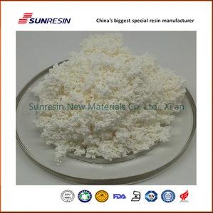 Cane sugar refining adsorption polymer resin