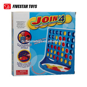 Cheap wholesale Educational children toy plastic chess set games connect 4 chess