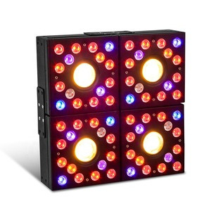 COB LED Grow Lights Full Spectrum Panel Grow Lamp with IR & UV LED Plant Lights for Indoor Plants Clones Succulents Seedlings