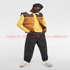 Contrast color Puffer Vest