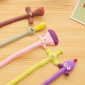 Cute cartoon silicone animal wire winder free shaping headphone cable tying and wire fixing finishing organizer