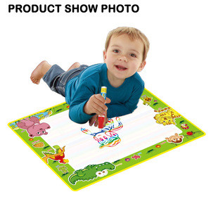 Educational water doodle mat drawing kit for kids