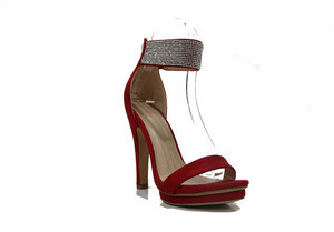 Fashion design high heel exposed toe sexy women shoes lady sandals