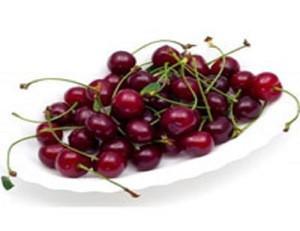 Fresh Dark Red Cherries / Fresh Cherries Fruits