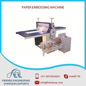 Hot Selling Automatic Customized Printing Embossing Machine by Leading Supplier