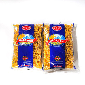 Hot selling buckwheat macaroni pasta organic healthy natural food low carbohydrate