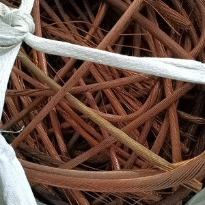 Insulated scrap metal copper cable 99% for ingots