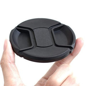 Kernel 49mm 52mm 55mm 58mm 62mm 67mm 72mm 77mm Front Lens Filter Snap On Pinch Cap Protector Cover For DSLR SLR Camera Lens