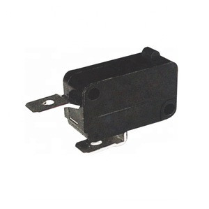 Locking micro switch long metal strip lever micro switch