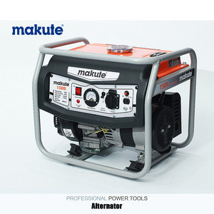 MAKUTE (GE1500) 2.5HP Three Phase Gasoline Generator with CE, Petrol Generator