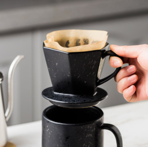 New Design Filter Cup Coffee Pot and Dripper Coffee Making Set
