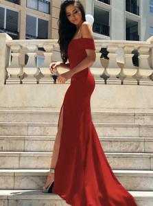 New evening dress women's dress burst breast-wrapped dress long skirt