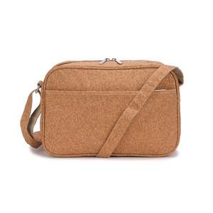 OEM custom manufacturer price eco-friendly durable cork message bag