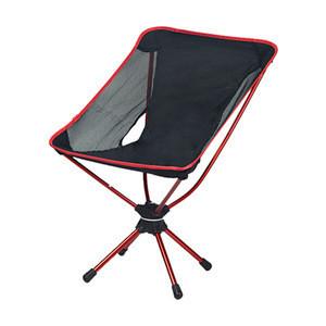Outdoor wholesale aluminium lightweight camping chair portable rotating beach chair