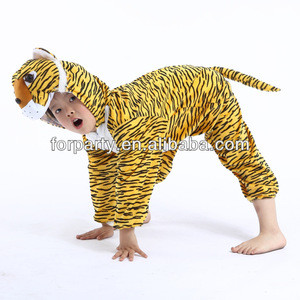 PC-0586 Party costume for children kids Cosplay tiger costume Animal costume for children