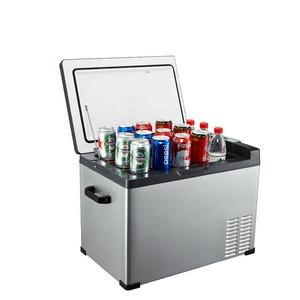 Portable Alpicool 50L car home refrigerator mini fridge AC100-240V DC12/24V Cold storage outdoor household compressor single