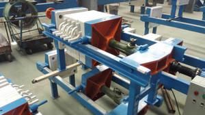 Portable Manual Screw Filtration Equipment for Waste Sludge