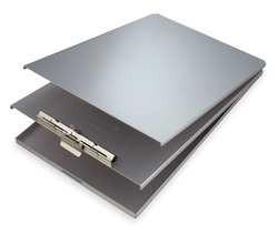 Portable Storage Clipboard Legal Silver