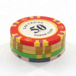 Wholesale Clay Poker Chips Custom Casino Game Chips for Gambling