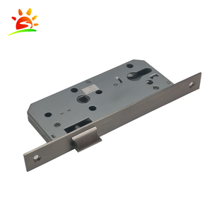 Wholesale in china mortise lock parts sliding door lock with supply ability 2500-3000 pcs per day