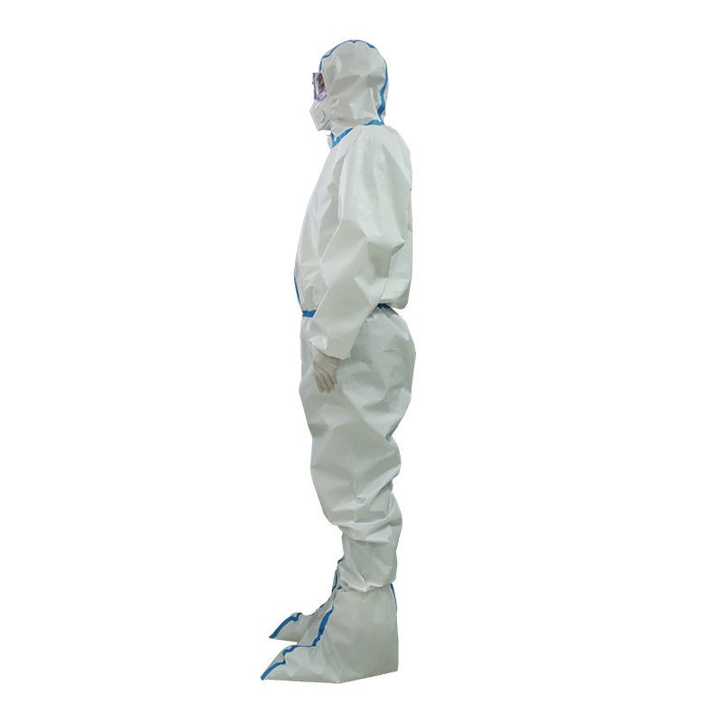 Biological Coverall Medical Breathable Protective Clothing