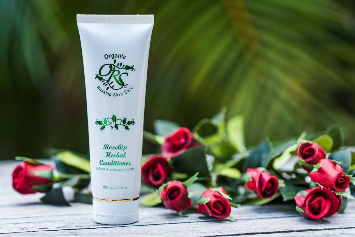 Organic Rosehip Herbal Conditioner 125ml