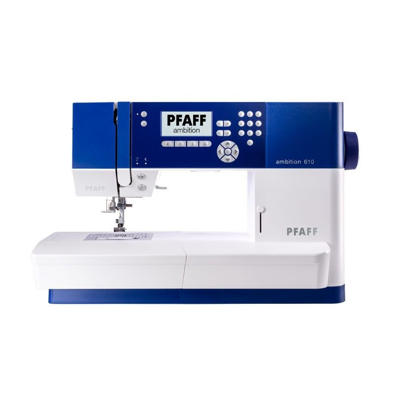Pfaff Ambition 610 Inc. SMD Thread Kit & Extension Table Sewing Machines