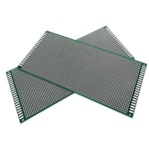 10*22cm Double Side Prototype PCB Breadboard 10x22cm Universal Thickness 1.6mm Pitch 2.54mm Practice DIY Electronic Kit Tinned