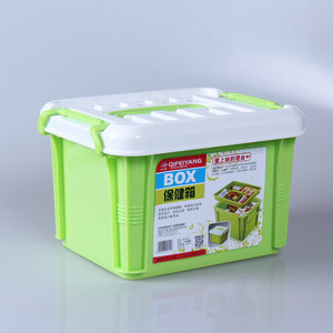 2016 food grade PP plastic first aid box medicine chest pill storage case