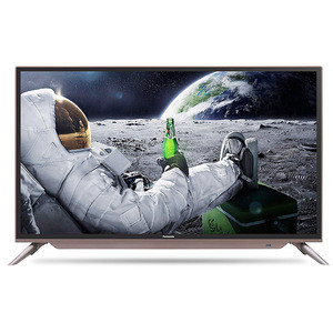 2018 New Design Television 4K Smart LED TV With NEW PAL/NTSC or PAL/SECAM  Led Digital Display TV