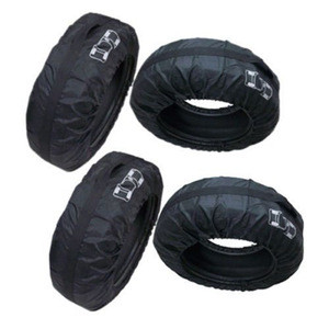 "4 Pcs Car Spare Tire Storage Protection Bag 13""-19"" Wheel Tyre Carry Tote Cover"