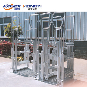 5 Steps Ladders And Extension Folding Stairs For Truck/ Train Loading System
