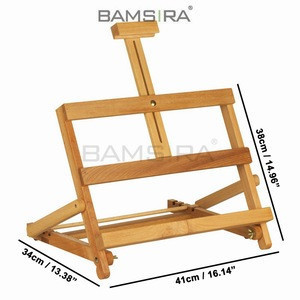 Adjustable Bamboo and Wooden Easel Stand/Bamsira_BSCI