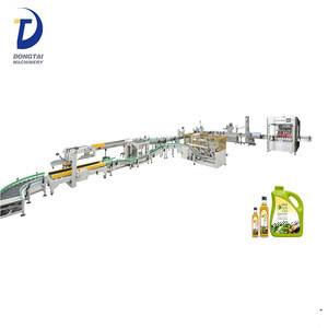 Automatic oil packing production line for avocado oil,peanut oil,edible oil olive oil