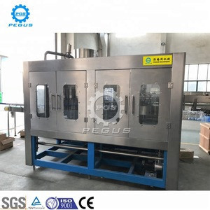 Automatic plastic bottle mineral water filling machinery for water factory