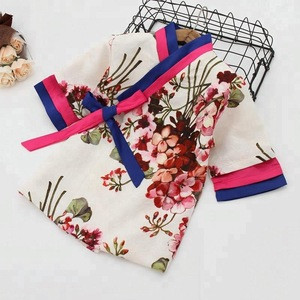 B22561A New autumn pretty printing girls traditional Chinese clothing