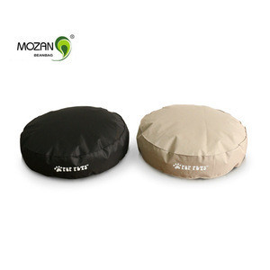 Bean bag without filling dog pet products cushion round