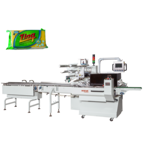 Best Horizontal Toilet Soap Flow Wrapping Packaging Machine