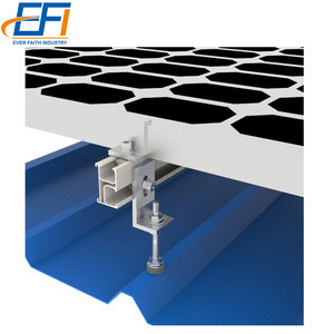 Bifacial PV Solar Panel Ballast Mounting System Rails Energy Metal Rack Flat Roof Tiles Mount System Kit
