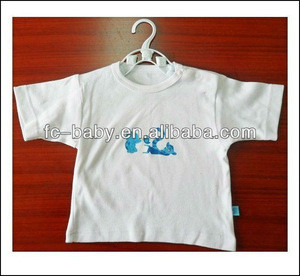 Blank baby t-shirts