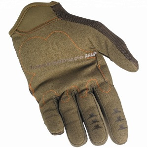 Brown Choke Pro Synthetic Leather Motorcycle Gloves