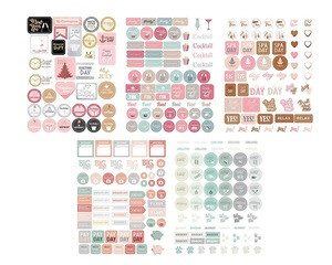Custom print Planner Stickers- Value Pack - Seasonal Stickers for Daily, Weekly & Monthly Planners