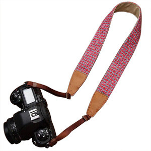 Custom printed fabric detachable camera strap